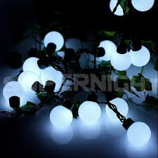 Blue Led String Lights by Supernight Led Outdoor Globe String Lights