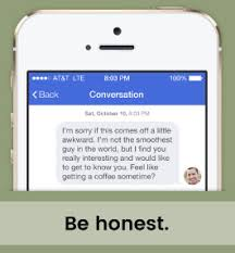 Tested Tips  How to Start a Conversation With a Girl  Online  Example self deprecating message