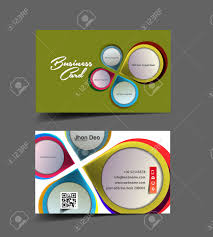 interior designer business card vector design royalty free