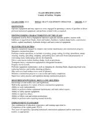 Resume Definition Equipment Operator Resume Free Resume Example And Writing Download