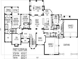 2 Floor House Plans With Photos by 100 1 Story Home Plans 1 Story 4 Bedroom 3 5 Bathroom 1