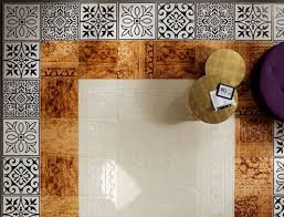 fap patterned floor tiles