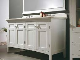 double vanity white shaker traditional feet legs painted paint