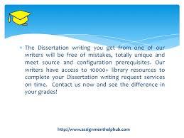 The Dissertation     SlideShare