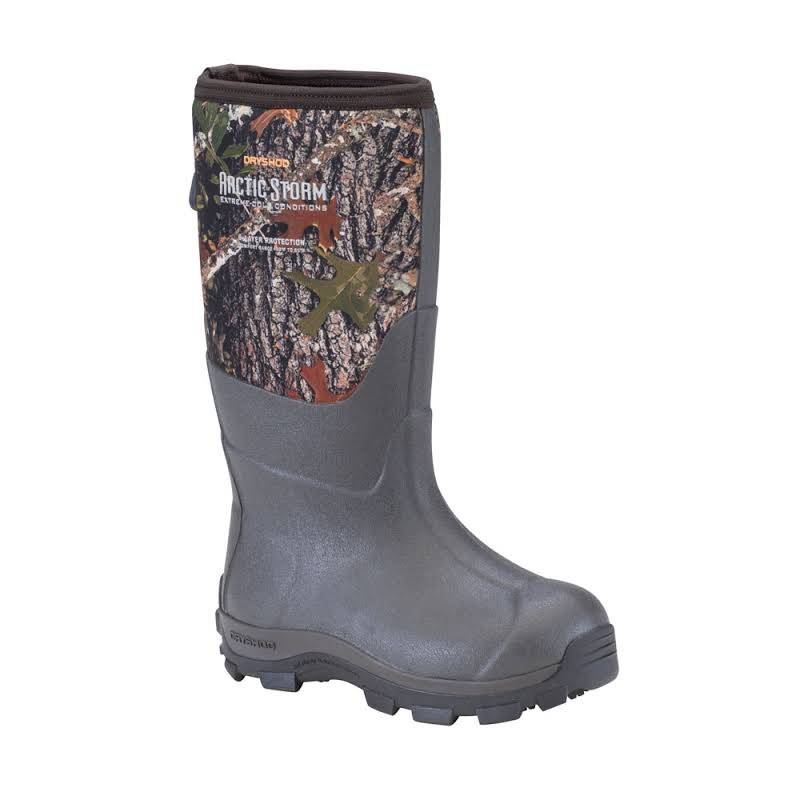Dryshod Arctic Storm Kids Winter Boot Black/Camo 5 ARS-KD-CM-500