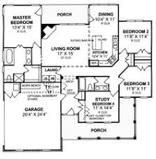 Single Story Open Concept Floor Plans First Floor Plan Of Country House Plan 46666 Products I Love