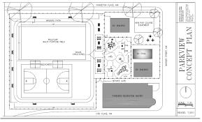 Community Center Floor Plans Recreation Centers Park View D C