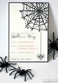 free halloween party invitations iidaemilia com free printable