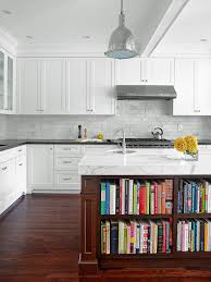 White Kitchen Cabinets With Black Granite Countertops by Backsplash Ideas For Granite Countertops Hgtv Pictures Hgtv