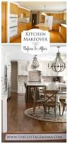 Before And After Kitchen Makeovers Before And After Kitchen Makeover The Cottage Mama