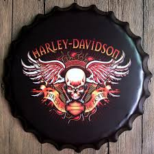 Vintage Home Decor Wholesale Online Buy Wholesale Harley Tin Sign From China Harley Tin Sign