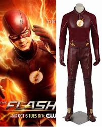Flash Halloween Costumes Flash Season 2 Barry Allen Red Cosplay Costume