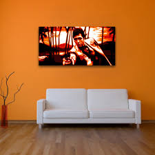Scarface Home Decor Wall Decoration Wall Art Orange Lovely Home Decoration And