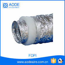 Insulated Ventilation Ducting Pre Insulated Aluminum Duct Pre Insulated Aluminum Duct Suppliers