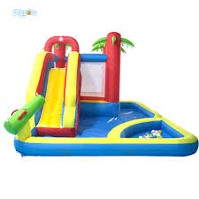 halloween bounce house dhl free shipping home use bounce house inflatable combo slide