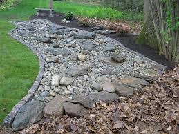 Best Dry River Bed Landscape Images On Pinterest Landscaping - Backyard river design