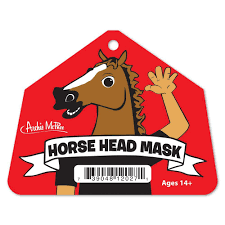 halloween city adrian michigan amazon com accoutrements horse head mask toys u0026 games