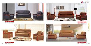 2017 modern genuine leather office sofa sets classic traditional