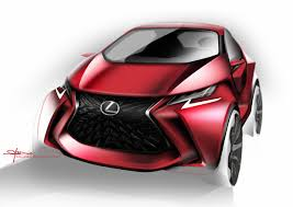 lexus concept cars how to draw a car designing the lexus lf sa lexus