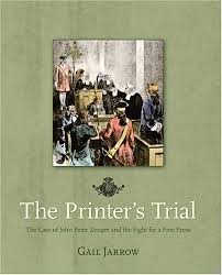 front cover of The Printers Trial by Gail Jarrow