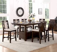 Winston Porter Nika  Piece Counter Height Dining Set  Reviews - Counter height kitchen table