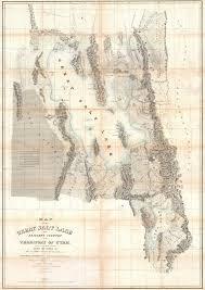 Map Of The United States Longitude And Latitude by Utah Surveying History