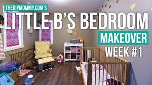 little b u0027s bedroom makeover week 1 a modern rainbow toddler
