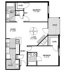 floor plans for two bedroom homes including house 2017 images