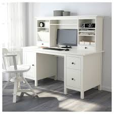 Ikea Computer Desk With Hutch by Hemnes Desk With Add On Unit White Stain Ikea