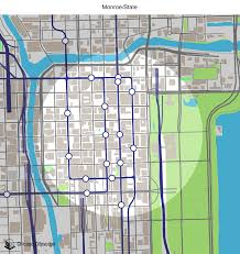 Chicago Line Map by Map Of Building Projects Properties And Businesses Near The
