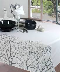 nappe ronde enduite 160 nappes coton naturel traitement téflon tendrecalin