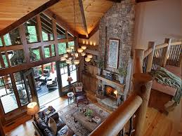 Exposed Beam Ceiling Living Room by Rustic Great Room With Hardwood Floors By Joe Folsom Zillow Digs
