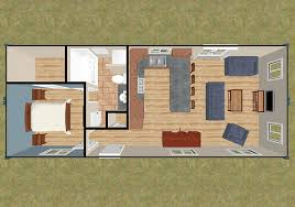 Container Houses Floor Plans 2 40 U0027 Isbu U0027s 1 1 U0026 3 2 5 U0026 2 1 5 640 Sq Ft 3d House And Tiny