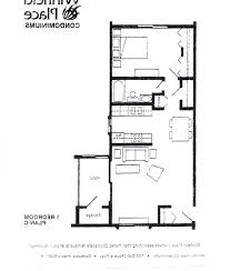 One Room Apartment Floor Plans Home Design One Bedroom Apartment Floor Plans Bohedesign With