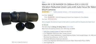 amazon black friday deals nikon camera accessories nikon lens lens rumors