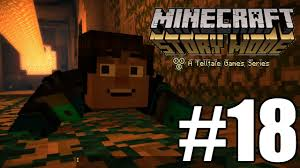 minecraft story mode gameplay playthrough 18 the heroes return