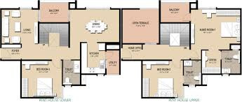 1800 sq ft 3 bhk 3t apartment for sale in golden gate panorama