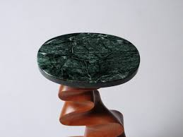 Custom Marble Table Tops by Custom Table For One Drink A Carved Contemporary End Table