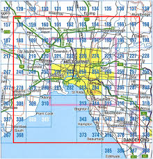 Map Grid Businessmapsaustralia U2014 Melbourne Custom Street Maps