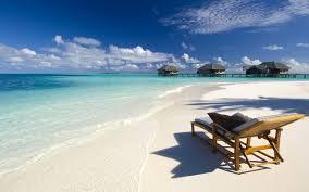 Luxury Beach Chair Tropical Ocean Resort Paradise Beautiful Peaceful Relax