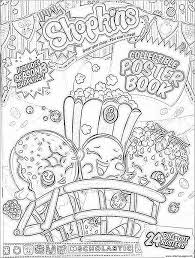 shopkins season 3 book coloring pages printable