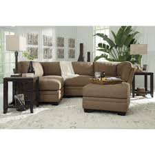 Ashley Furniture Iago Sectional In Mocha Space Saving Sectionals - Ashley furniture durham nc