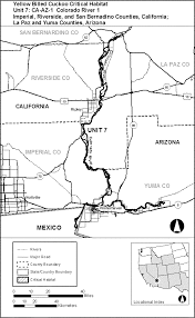Colorado Unit Map by Federal Register Endangered And Threatened Wildlife And Plants