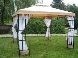 Small Gazebos For Patios by 3 X 3m Patio Metal Gazebo Canopy Tent Pavilion Garden Outdoor