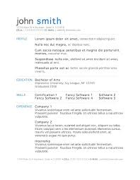 Resume Examples  resume template word doc microsoft office     Bright Hub