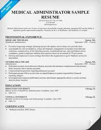 Sample Resume Of Office Administrator by 18 Office Administrator Sample Resume Administrative