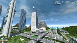 Minecraft New York Map Download by Minecraft World Of Worlds V3 0 Creation Minecraft Worlds Curse