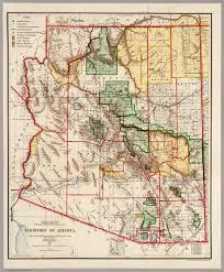 Map Az Territory Of Arizona 1905 David Rumsey Historical Map Collection