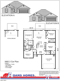 Central Park Floor Plan by Central Park Adams Homes