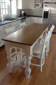 best ideas about narrow kitchen island pinterest small your small family could gather dinner time happily around this narrow kitchen island